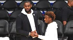 LeBron James' Son Pulls A Dad Move In Spectacular Chase-Down