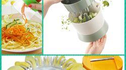 Mangez plus de légumes, avec ces 5 gadgets pour les cuisiner (vraiment)