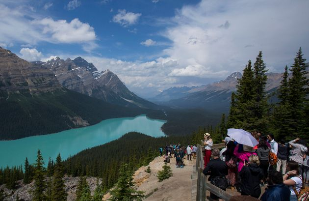 This photo shows the scene at Banff National Park in Alberta in July. The Weather Network's chief meteorologist...