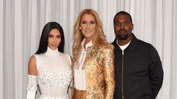 Céline Dion critiquée pour une photo prise avec Kim Kardashian et Kanye