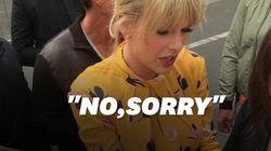 Taylor Swift refuse de signer un autographe et elle pourrait avoir une bonne