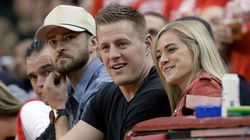 J.J. Watt Gets Engaged And Justin Timberlake Is Playfully