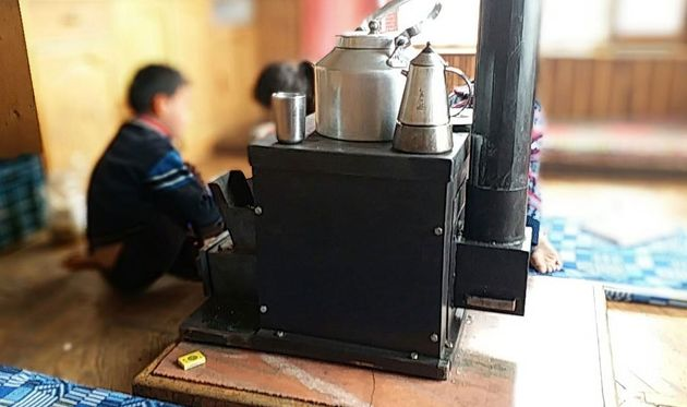 The Eco1 Rocket stove uses less wood than traditional solutions, leading to lower CO2 emissions, and...