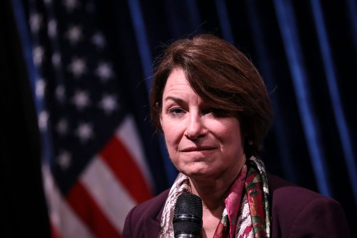 Sen. Amy Klobuchar (D-Minn.) told a crowd in Iowa this weekend that Sen. John McCain (R-Ariz.) compared Donald Trump to a dic