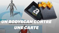 Amazon veut acheter votre corps (en 3D) contre une carte-cadeau de 25