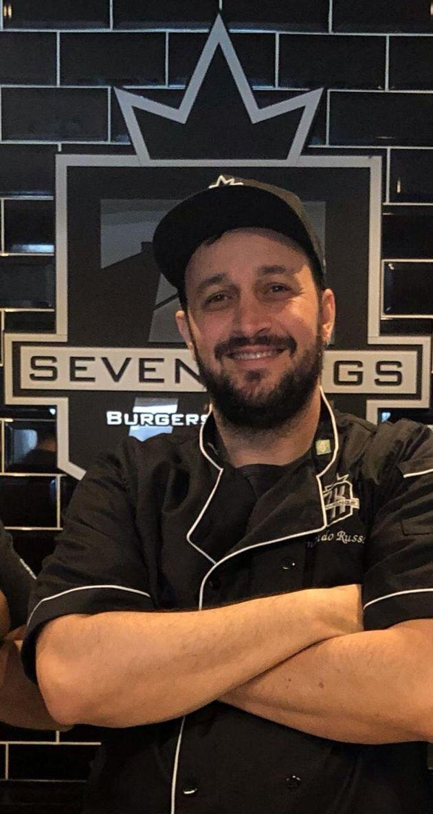 Fernando Russell,vencedor do concurso Melhor Hambúrguer do Brasil do programa Mais