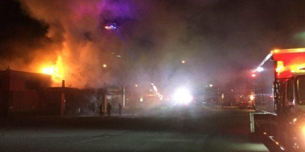 Une voiture percute le Burger King de Saint-Georges et provoque un violent