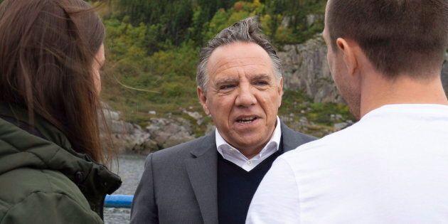 «On veut rester Québécois, allez-vous vous battre pour nous?» lance une électrice à François