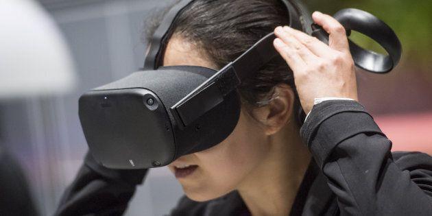 Facebook lance un nouveau casque de réalité virtuelle appelé Oculus