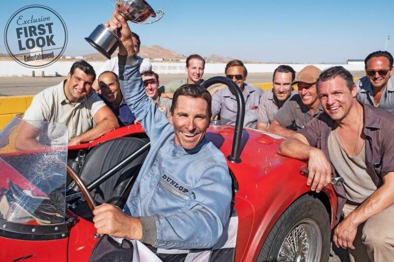 受《羅根》影響!《福特對決法拉利》釋出首波劇照