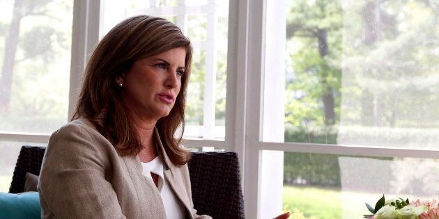Former interim Conservative leader Rona Ambrose is shown during an interview with The Canadian Press...