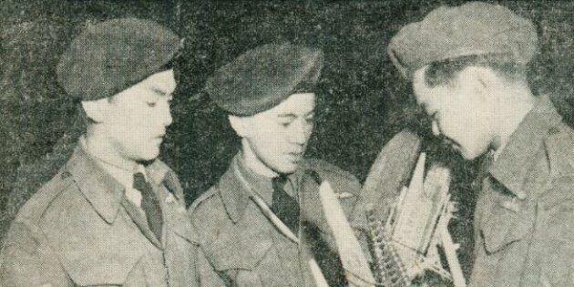 A February 1946 photo from The Vancouver Sun describing the