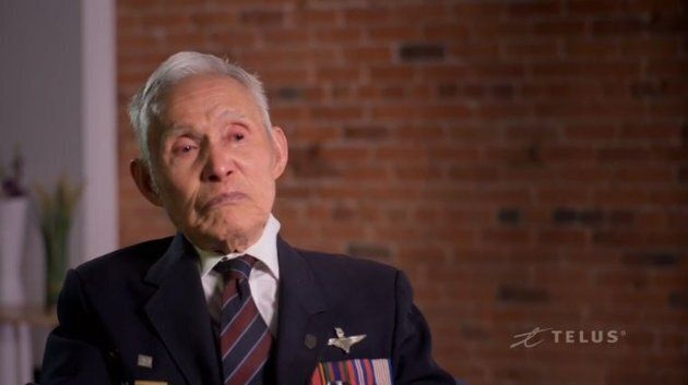 Charles Lee, a Force 136 veteran, is seen in the documentary.
