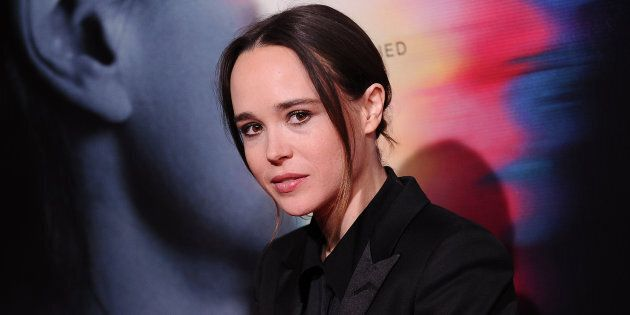 Actress Ellen Page attends the premiere
