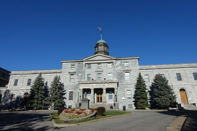 The McGill University campus in Montreal,