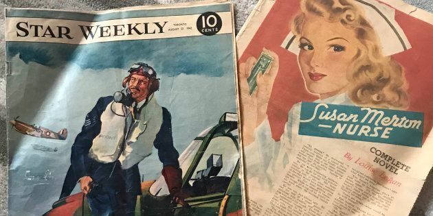 Andrew Boryski stumbled on a 1942 edition of The Star Weekly while he was renovating an old house in...