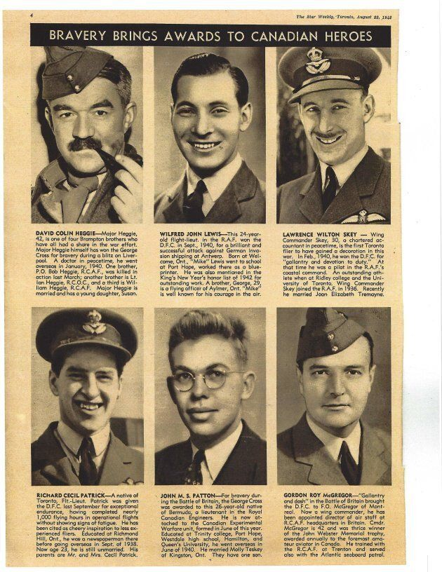 This is the first of two pages of the Star Weekly devoted to Canadian soldiers fighting overseas during...