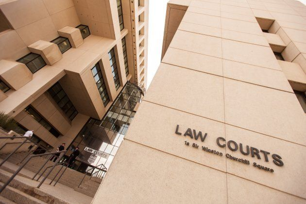 The Law Courts in downtown Edmonton,
