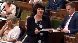 'Baby's Gotta Eat.' MP Shrugs Off Critics After Breastfeeding At