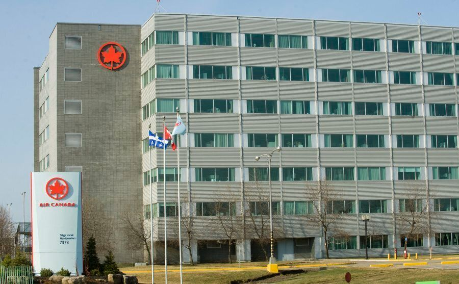 Air Canada's head office in Montreal circa