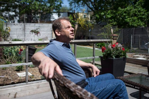 John Wallenburg is pictured at his home in Toronto on May 18, 2018. Wallenburg's daughter Marika grew up with cystic fibrosis, but never had a superbug before she was hospitalized at the age of 26.