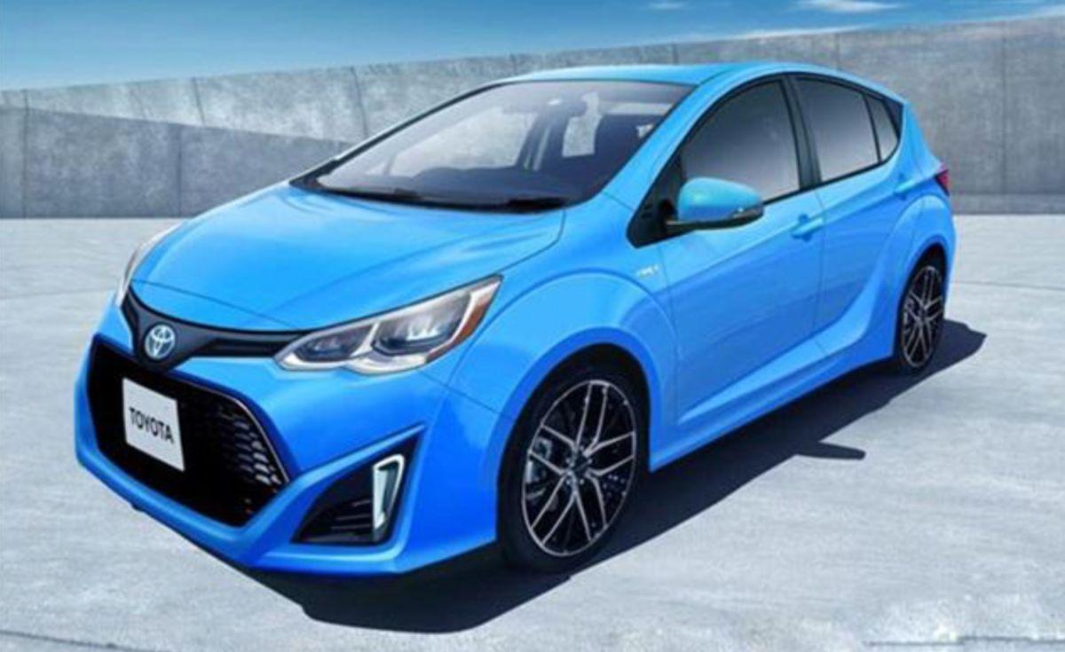 THSII 新世代油電混合動力系統能提升電力與引擎轉換效率,帶來更好的節能與動能發展。(此為新一代 Prius c 預想圖。)
