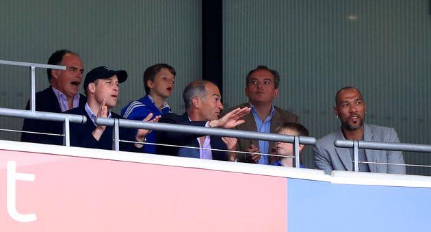 Prince William Loses It Over Aston Villa's Championship Playoff
