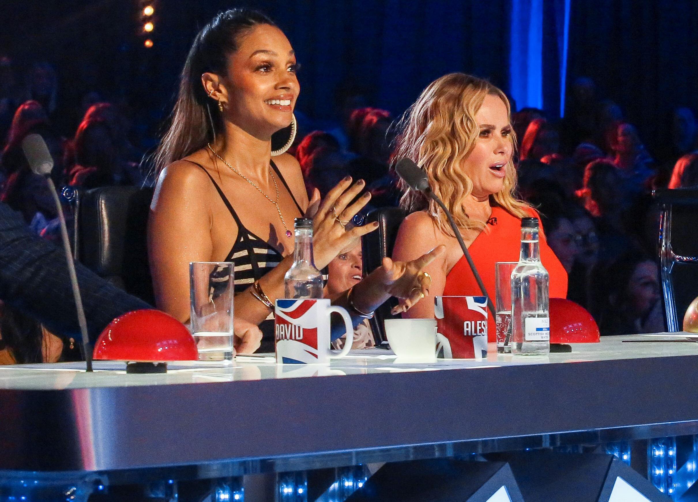 'Britain's Got Talent' judges Alesha Dixon and Amanda Holden (Credit: Syco/Thames)