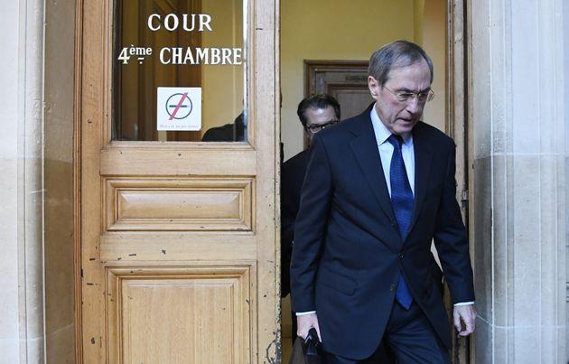 Claude Guéant, lors de son procès, en