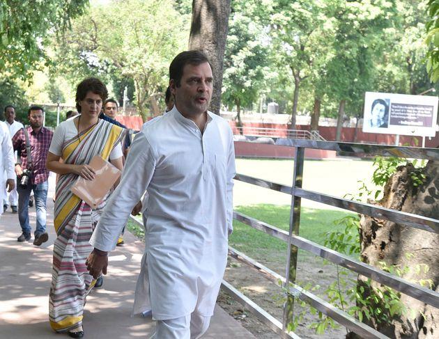 Congress Leaders Flock to Rahul Gandhi's Residence As Resignation Drama