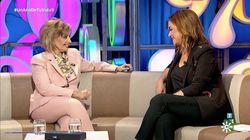 La pullita de María Teresa Campos a Telecinco en su entrevista con Toñi