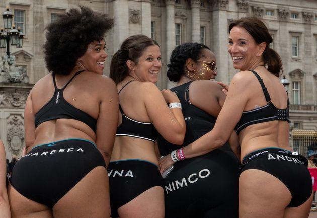 Why 700 Women Ran 10K In Their Underwear Yesterday