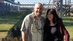 El padre y la hija que dan a los primates una segunda oportunidad de ser