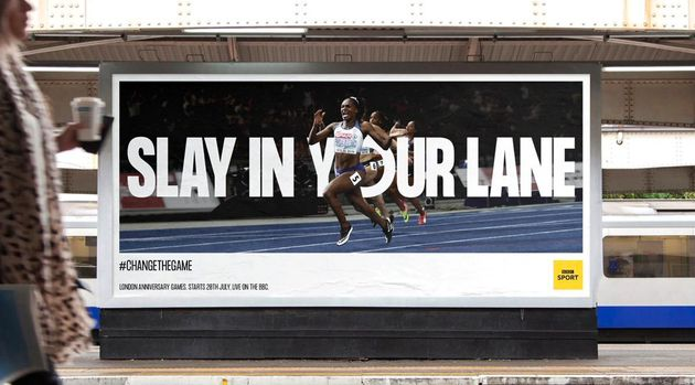 BBC Sport's 'Slay In Your Lane'