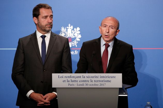 Colis piégé à Lyon: Collomb s'exprime sur l'enquête, Castaner le