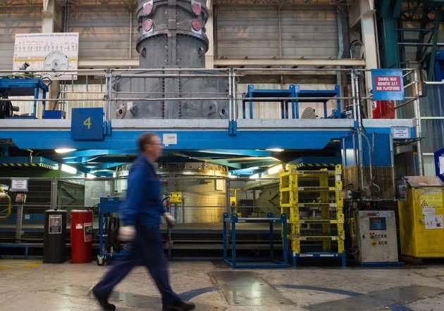 Usine de General Electric à Belfort en octobre 2015