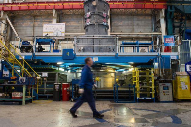 Dans l'usine General Electric de Belfort en