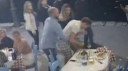 Η στιγμή που υπεύθυνος εστιατορίου στην Κρήτη σώζει πελάτη από