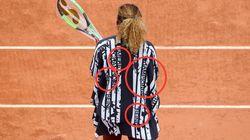 El potente mensaje feminista de la chaqueta de Serena Williams en Roland