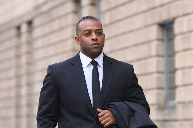 Former JLS singer Oritse Williams, pictured here arriving at Wolverhampton Crown Court, where on Tuesday...