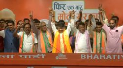 Two TMC MLAs, 50 Councillors Join BJP In