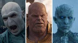 Começou uma briga no Twitter para decidir quem é o maior vilão: Voldemort, Thanos ou Rei da