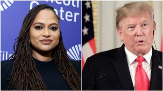 Ava DuVernay, President Donald Trump (Getty Images).