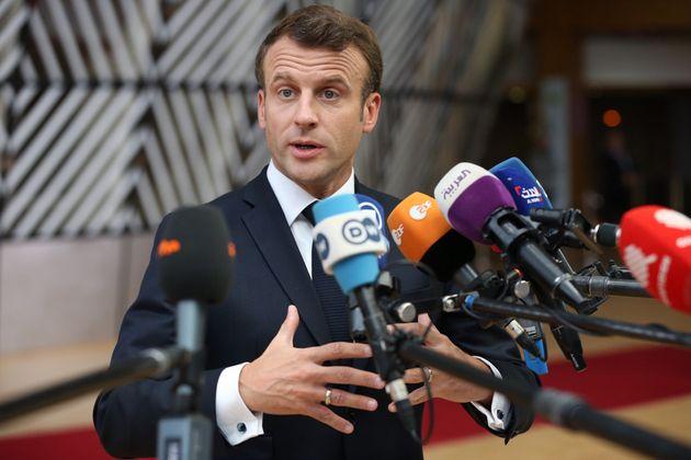 Avant le sommet informel des chefs d'État et de gouvernement, Emmanuel Macron a livré son...