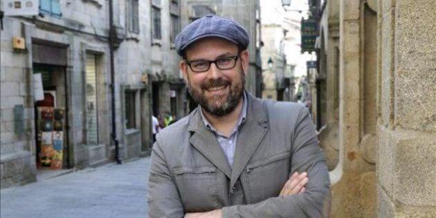 Martiño Noriega, alcalde de Santiago de Compostela por Compostela Abierta entre 2015 y