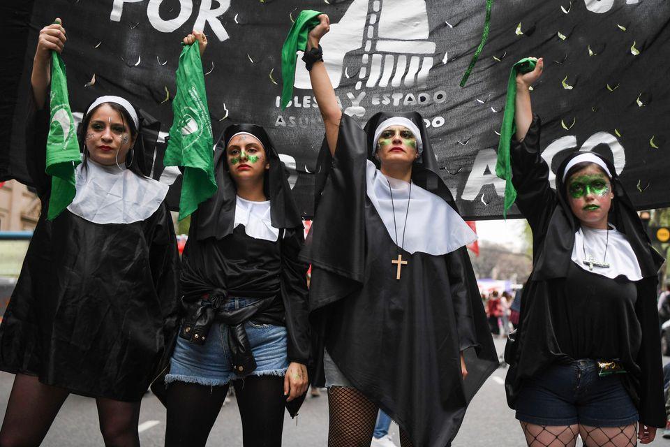 Des manifestations secouent l'Argentine depuis plusieurs mois entre pro et