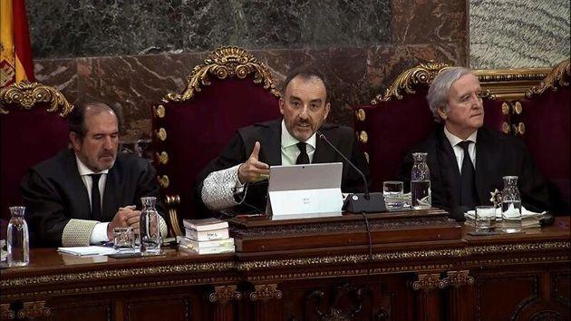 El juez Manuel Marchena, en el