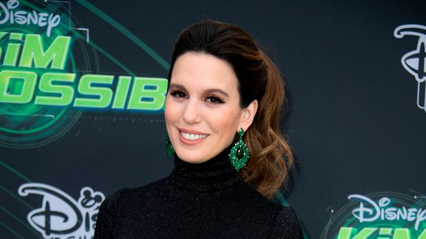 "Actress Christy Carlson Romano attends the world premiere of Disney channel original movie ""Kim Possible"", in North Hollywood, California on February 12, 2019. (Photo by VALERIE MACON / AFP)        (Photo credit should read VALERIE MACON/AFP/Getty Images)"