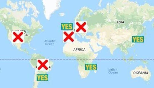 Ces pays qui avancent ou qui reculent sur le droit à