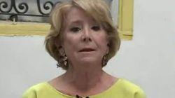 Esperanza Aguirre se emociona en directo tras esta pregunta personal de Mamen Mendizábal en 'Más Vale